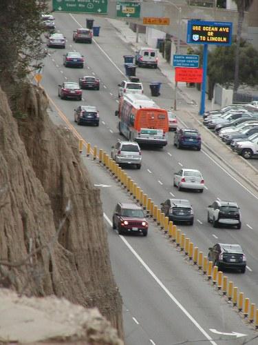 Pacific Coast Highway In Santa Monica
