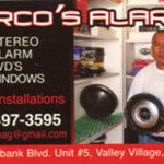Marcos Alarms